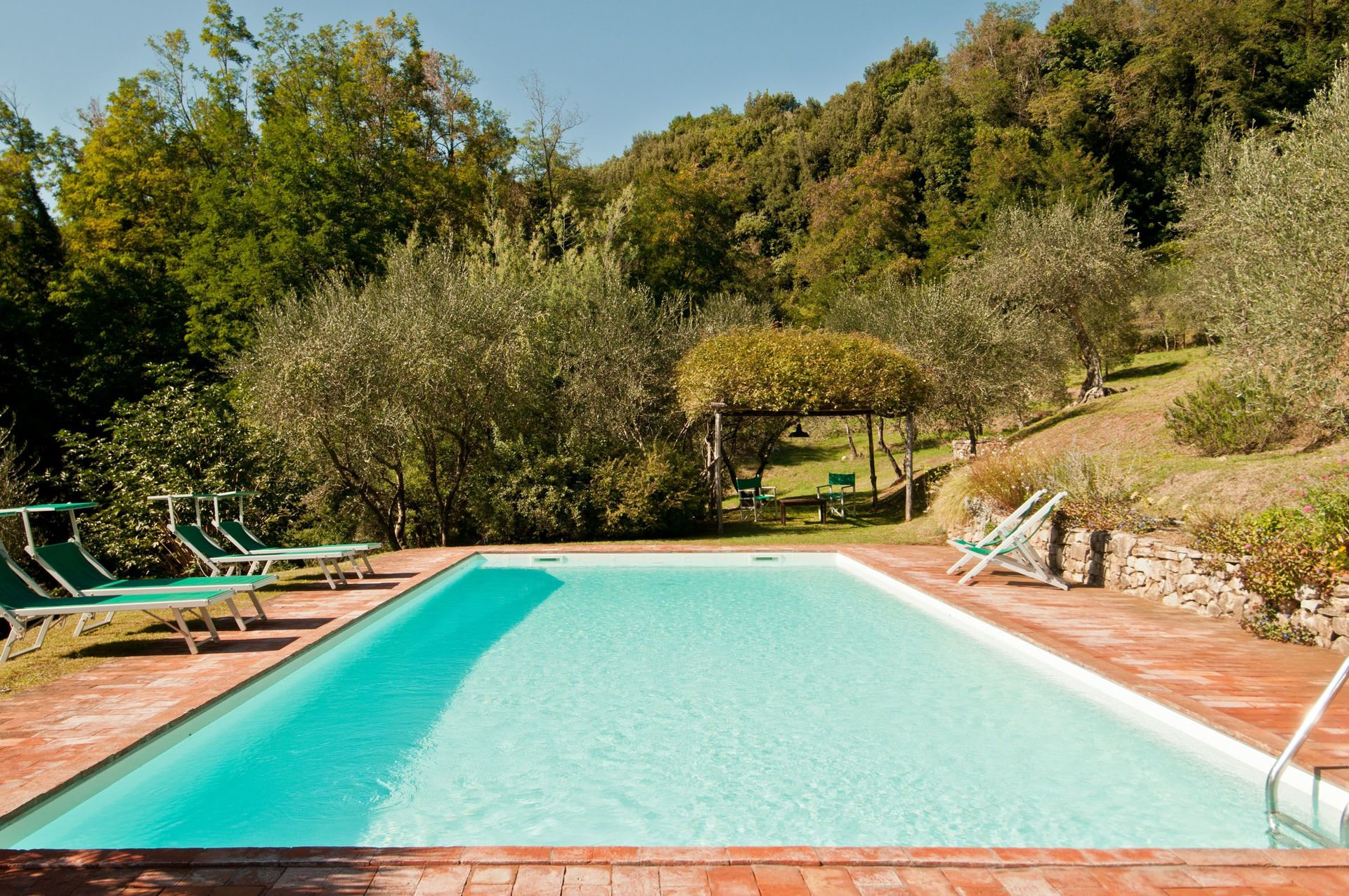 Plan Ou Photo Pool House Pour Piscine damiano villa in tuscany lucca - salogi villas, italy